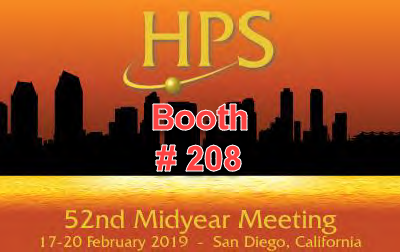 NUVIA Dynamics at HPS Midyear Meeting in San Diego, California, USA